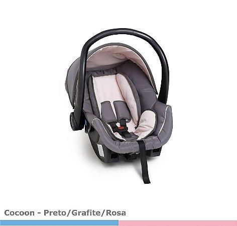 Bebê Conforto Galzerano Cocoon Grafite/Rosa 8181