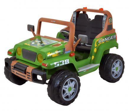 Jeep Ranger Peg Perego 12v Verde 92592