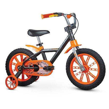 Bicicleta Nathor Aro 14 First Pro Alumínio Laranja