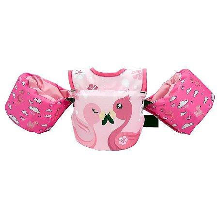 Colete Infantil Flamingo Peitoral Homologado 0-25kg