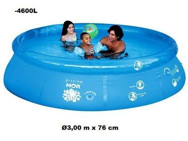 Piscina Mor Splash Fun Inflável 4600 Litros
