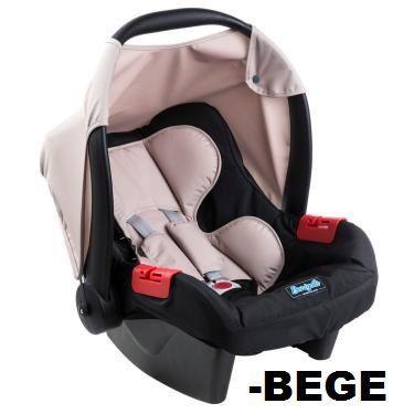 Bebê Conforto Burigotto Touring Evolution Bege 3044