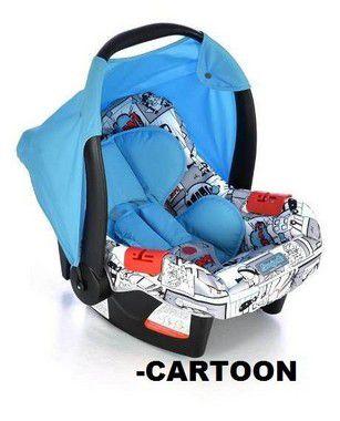 Bebê Conforto Burigotto Touring Evolution Cartoon