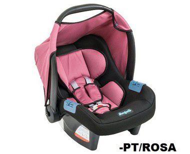 Bebê Conforto Burigotto Touring Evolution PT/ROSA