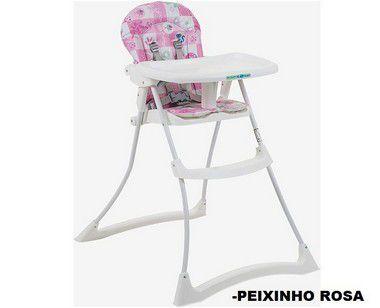 Cadeira Burigotto Bon Appetit XL Peixinho Rosa 3045