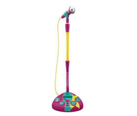 Microfone Fun Barbie Fabuloso Com Função