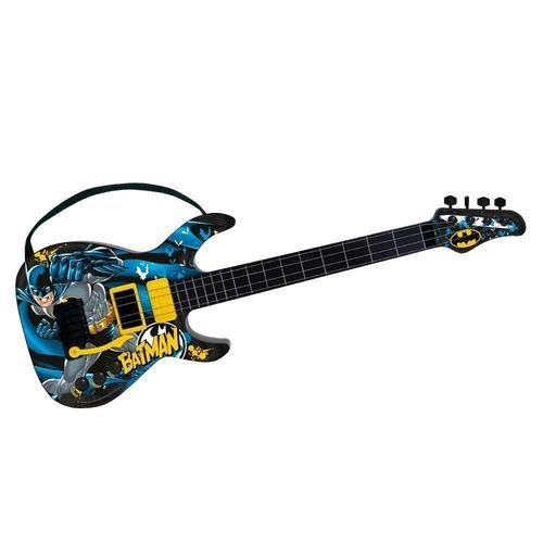 Guitarra Fun Batman Cavaleiro Das Trevas Infantil