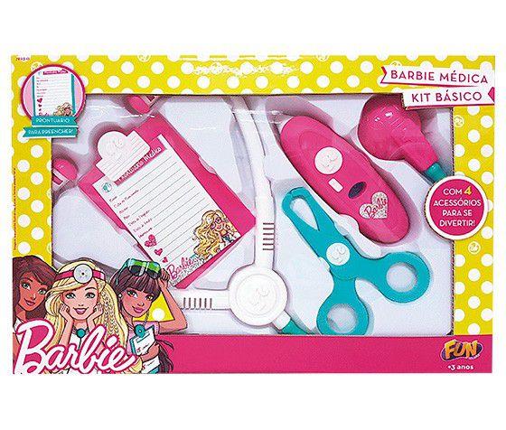 Kit Médica Barbie Básico Sort