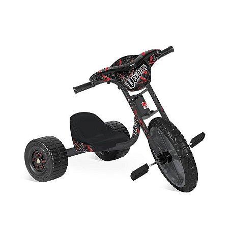Triciclo Bandeirante Velotrol Preto 234