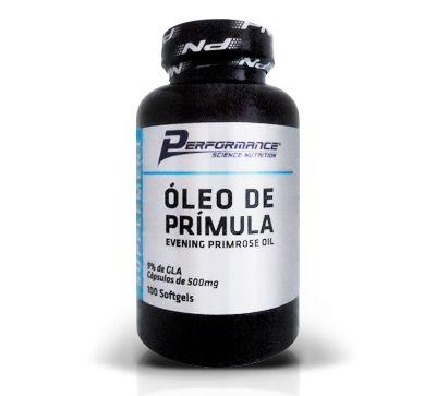 ÓLEO DE PRÍMULA - PERFORMANCE NUTRITION -  100 softgels
