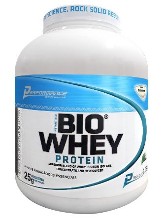 PROTEÍNA BIO WHEY PROTEIN - PERFORMANCE NUTRITION