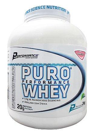 42af38adf PURO WHEY STEVIA PERFORMANCE NUTRITION