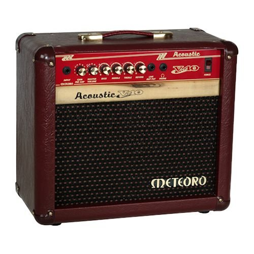 Caixa Meteoro Acoustic V40 p/ Violao 40W 4AF05