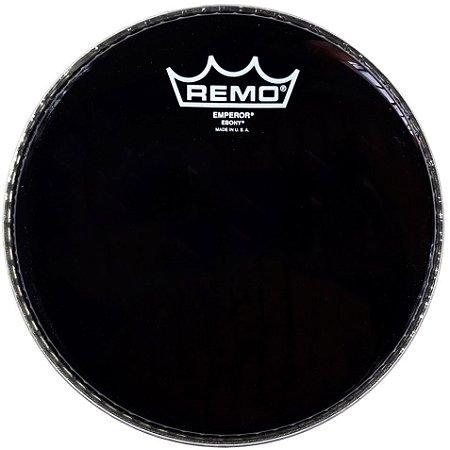 """Pele Remo Emperor BE0010-ES 10"""" Ebony"""