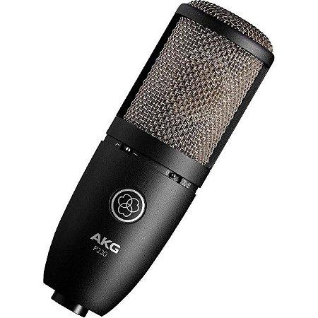 Microfone AKG P220 Condensador Cardioide Studio Pr