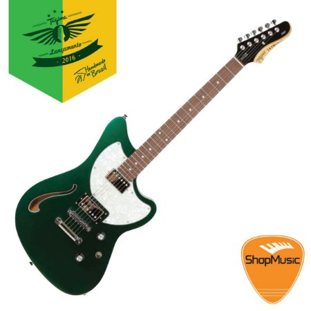 Guitarra Tagima Jet Blues Standard Verde Metálico