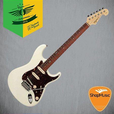 Guitarra Tagima T805 Branco Vintage