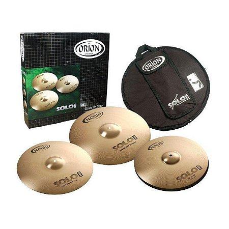 Kit de Pratos Orion Solo Pro PR70 Medium