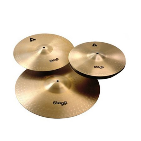 "Kit de Pratos Stagg AXK SET 14"" 16"" 20"""