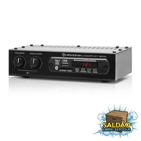 Amplificador Hayonik Compact 200 FM-USB