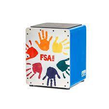 Cajon FSA Kids FK Azul