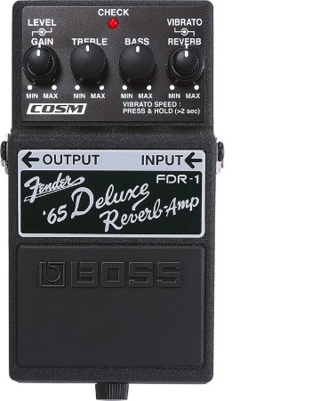 Pedal Boss FDR-1 Fender Deluxe Reverb