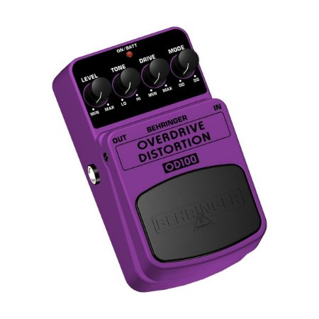 Pedal Behringer OD100 Overdrive/Distortion