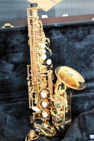 Sax Soprano Eagle SP508 Curvo Laqueado (OPEN BOX)