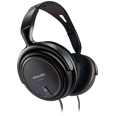 Fone Philips SHP2000/10 Preto