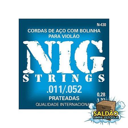 Encordoamento Nig Violão 011 N430