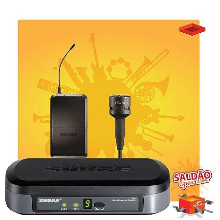 Microfone s Fio Shure PG14PG185 Lapela