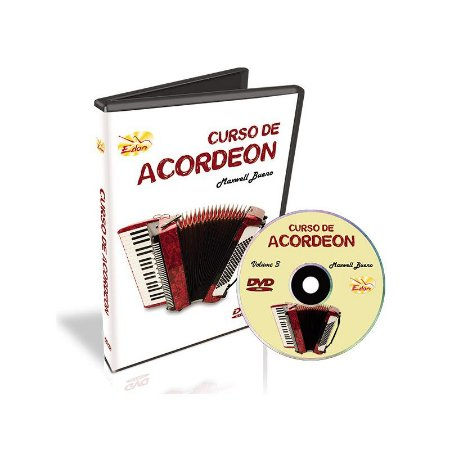 Video Aula EDON Curso de Acordeon Iniciantes VOL 3