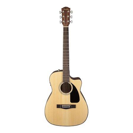Violão Folk Fender CF60 CE Cutway Eletroacoustic + case