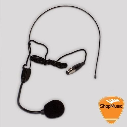 Microfone Headset BRM T40h com Plug Mini XLR