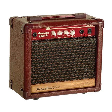 Caixa Meteoro Acoustic V10 p/ Violao 10W AF06