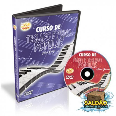 Video Aula Edon Curso de Teclado e Piano Pop Vol 4