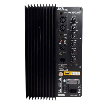 Amplificador SKP PW 650 325 WRMS Biamp
