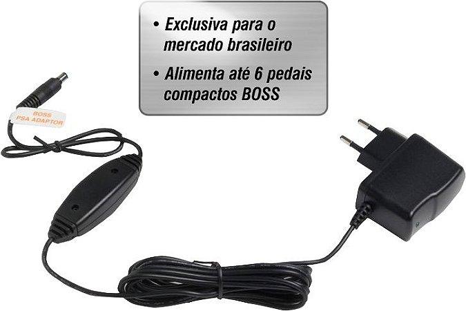 Fonte Boss PSA-120ZS p/ Pedal de Efeito Pedaleiras