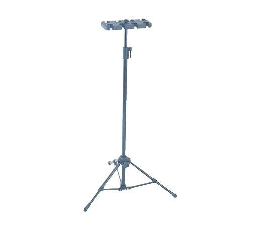 Expositor Vector AM-08-P p/ 08 Microfones Preto