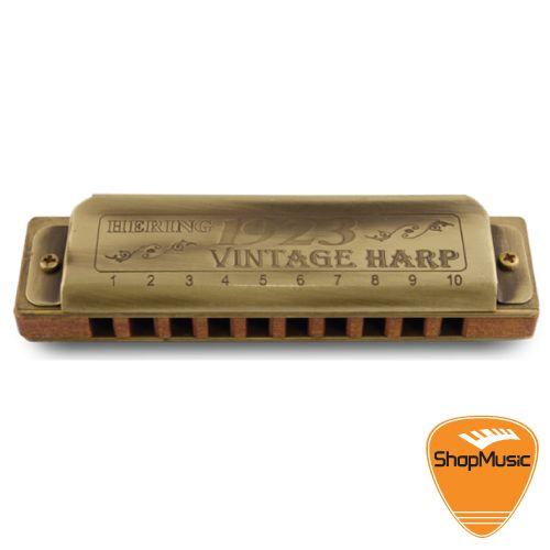 Gaita Hering Vintage Harp 1020  G Sol Corpo Madeira