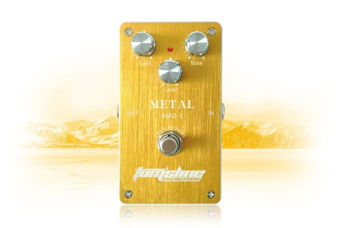 Pedal Tomsline AMD-1 Metal Distortion