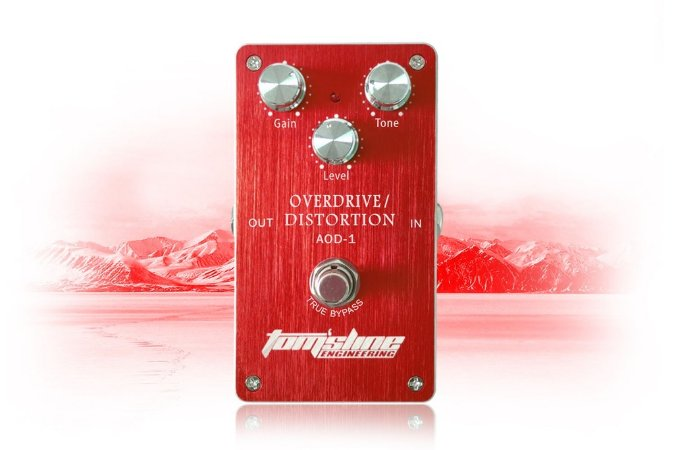 Pedal Tomsline AOD-1 Overdrive/Distortion