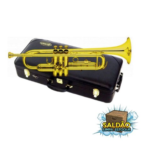 Trompete Hoyden HTR 25L SiB Laqueado + case