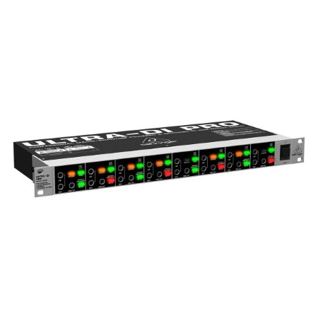 Direct Box Behringer ULTRA-DI PRO DI800 8 canais - directbox