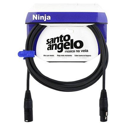 Cabo S. Angelo NinjaLW  XLRM x XLRF B 20FT 6,10mt