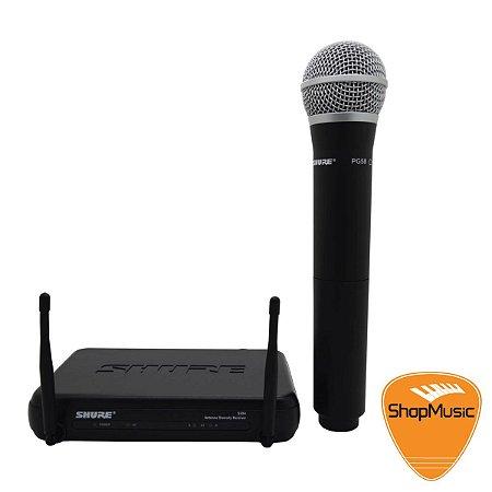 Microfone sem Fio Shure SVX24BR PG58 Mao