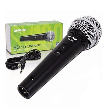 Microfone Shure SV100 Lyric Dinamico