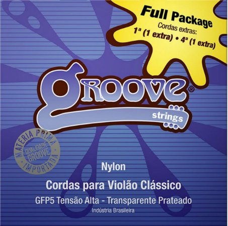 Encordoamento Groove Violao Nylon FullPack GFP5