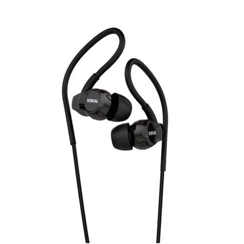 Fone Vokal E20 In Ear Preto Intrauricular
