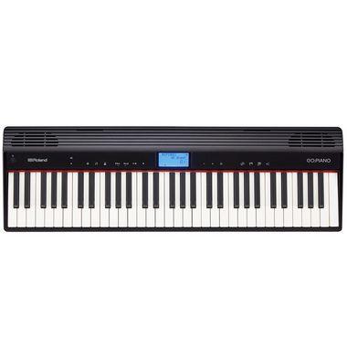 Piano Digital Roland GO:PIANO GO-61P / 5 Oitavas / 61 teclas / Bluetooth